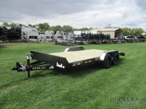 2021 Rice Trailers Equipment FMCMR8218 for sale at Rondo Truck & Trailer in Sycamore IL