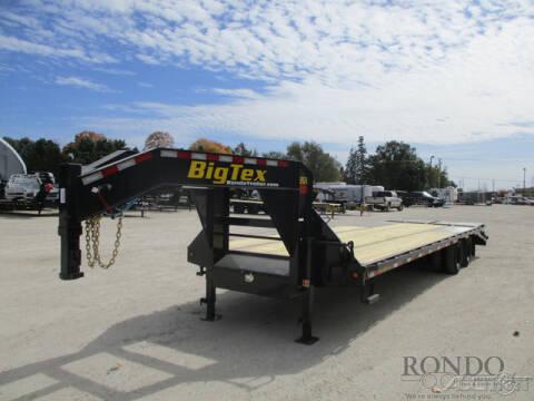 2021 Big Tex Gooseneck 22GN-25BK+5MR for sale at Rondo Truck & Trailer in Sycamore IL