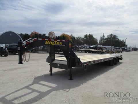 2021 Big Tex Gooseneck 22GN-28BK+5MR for sale at Rondo Truck & Trailer in Sycamore IL
