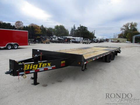 2021 Big Tex Equipment Deckover 22PH-25BK+5 for sale at Rondo Truck & Trailer in Sycamore IL
