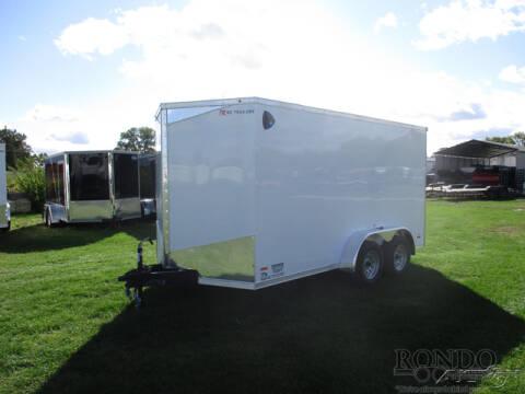 2021 RC Trailers Enclosed Cargo RDLX 7X14TA2 for sale at Rondo Truck & Trailer in Sycamore IL