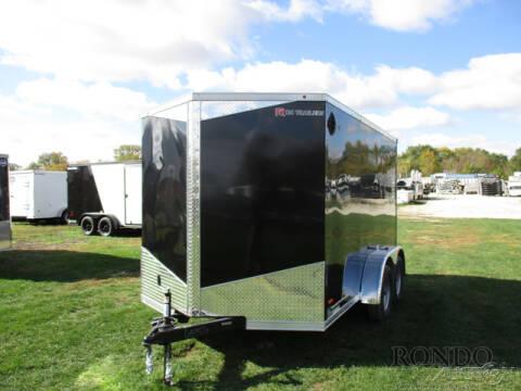 2021 RC Trailers Enclosed Cargo RDLX 7X12TA2 for sale at Rondo Truck & Trailer in Sycamore IL