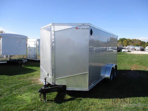 2021 RC Trailers Enclosed Cargo RDLX 7X16TA2 for sale at Rondo Truck & Trailer in Sycamore IL