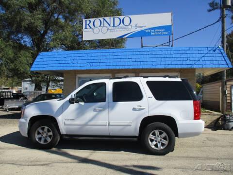 2012 GMC Yukon for sale at Rondo Truck & Trailer in Sycamore IL