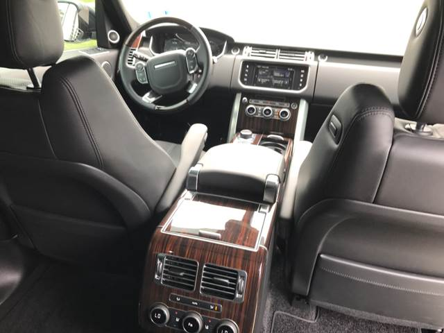 2016 Land Rover Range Rover AWD Supercharged LWB 4dr SUV - Longview TX