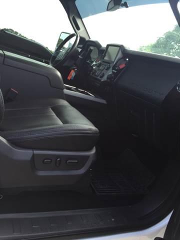 2015 Ford F-250 Super Duty 4x4 Platinum 4dr Crew Cab 6.8 ft. SB Pickup - Longview TX