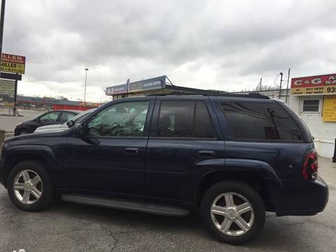 2008 Chevrolet TrailBlazer for sale at C & G Auto Sales in Gary IN