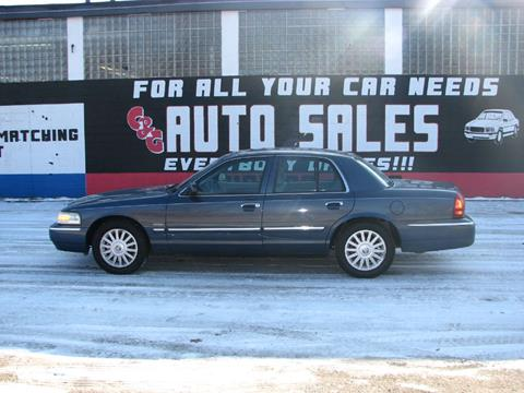 2010 Mercury Grand Marquis for sale at C & G Auto Sales in Gary IN