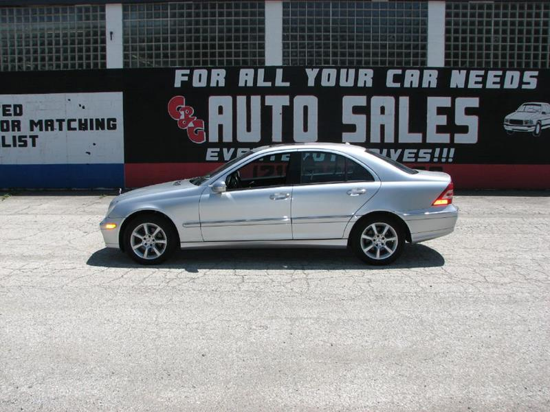 2007 Mercedes-Benz C-Class for sale at C & G Auto Sales in Gary IN