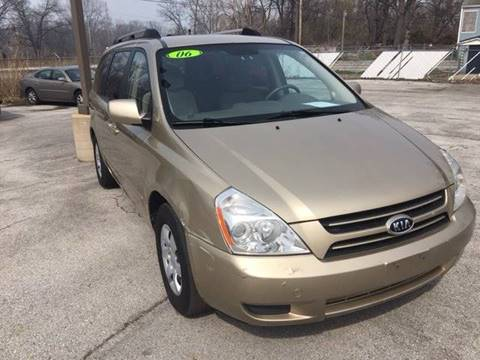 2006 Kia Sedona for sale in Gary, IN