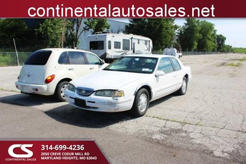 1997 Mercury Cougar for sale in Maryland Heights, MO