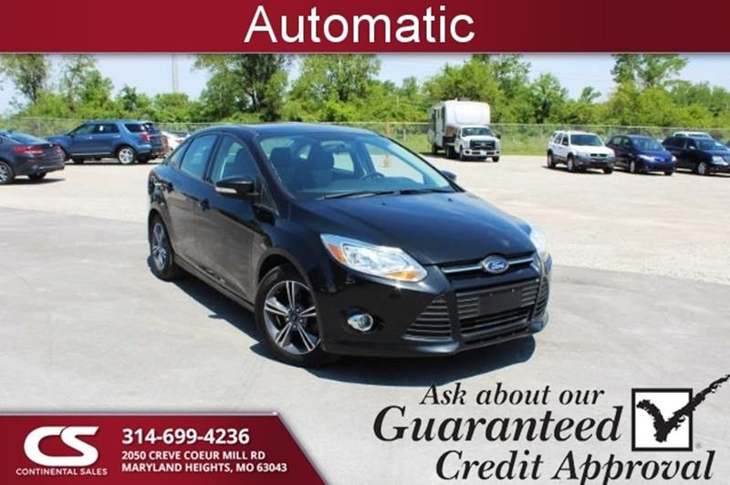 2014 Ford Focus Se 4dr Sedan In Maryland Heights Mo