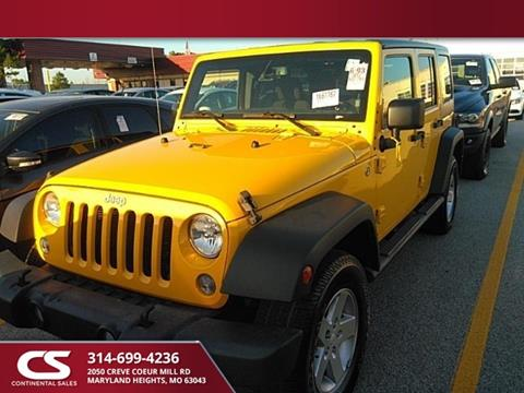 2015 Jeep Wrangler Unlimited for sale in Maryland Heights, MO