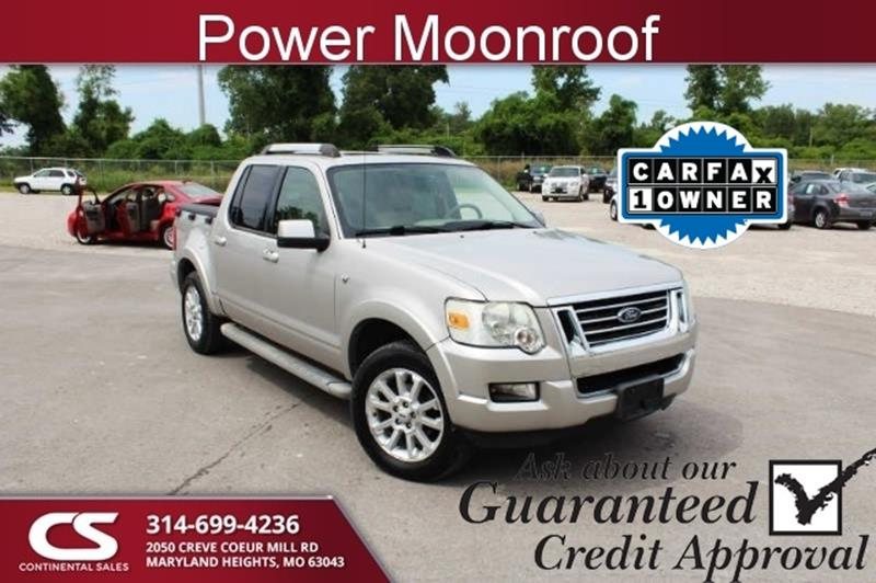 2007 Ford Explorer Sport Trac Limited 4dr Crew Cab 4wd V8 In