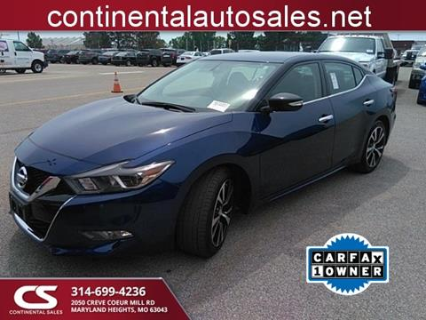 2018 Nissan Maxima for sale in Maryland Heights, MO