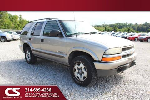 2003 Chevrolet Blazer for sale in Maryland Heights, MO