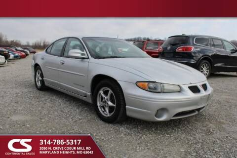 2001 Pontiac Grand Prix for sale in Maryland Heights, MO