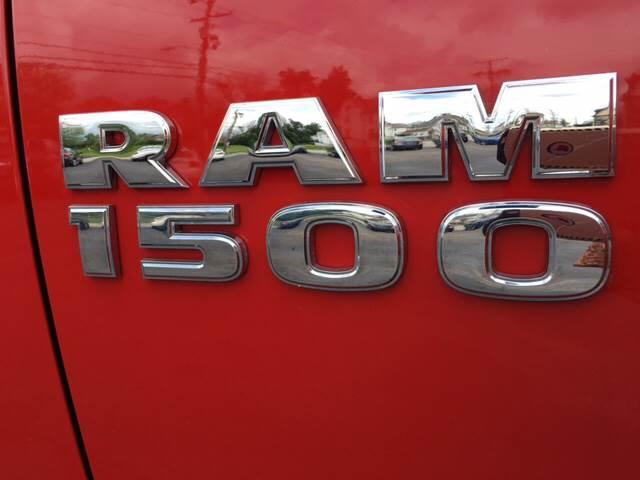 2014 RAM Ram Pickup 1500 4x4 Big Horn 4dr Crew Cab 5.5 ft. SB Pickup - Uniontown PA