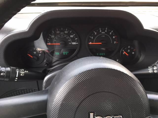 2008 Jeep Wrangler 4x4 X 2dr SUV - Uniontown PA