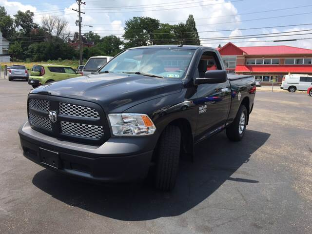 2013 RAM Ram Pickup 1500 4x2 Tradesman 2dr Regular Cab 6.3 ft. SB Pickup - Uniontown PA