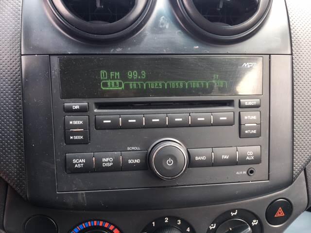 2009 Chevrolet Aveo Aveo5 LT 4dr Hatchback - Uniontown PA