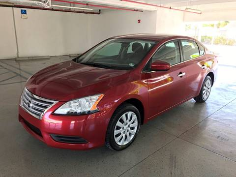 2015 Nissan Sentra for sale at CHASE MOTOR in Miami FL