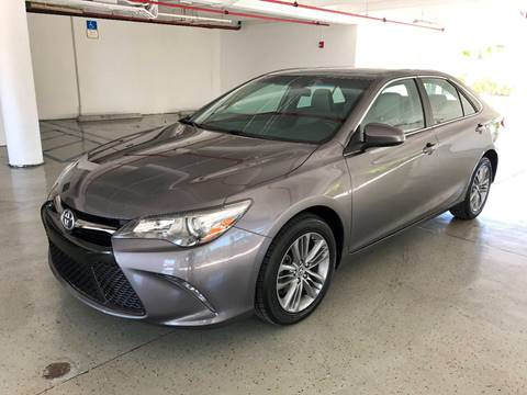2015 Toyota Camry for sale at CHASE MOTOR in Miami FL