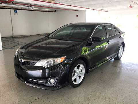2014 Toyota Camry for sale at CHASE MOTOR in Miami FL