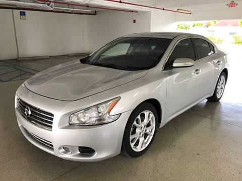 2013 Nissan Maxima for sale at CHASE MOTOR in Miami FL
