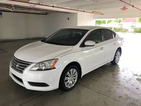 2014 Nissan Sentra for sale at CHASE MOTOR in Miami FL