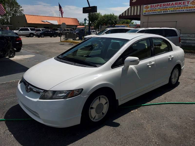 2007 honda civic sedan hybrid
