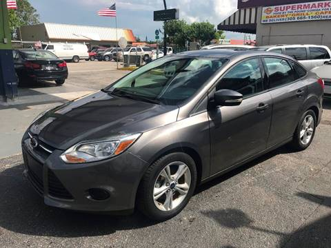 2014 Ford Focus for sale at CHASE MOTOR in Miami FL