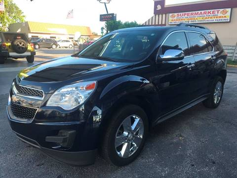 2015 Chevrolet Equinox for sale at CHASE MOTOR in Miami FL