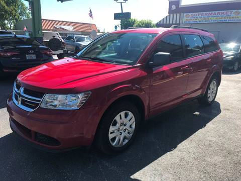 2016 Dodge Journey for sale at CHASE MOTOR in Miami FL