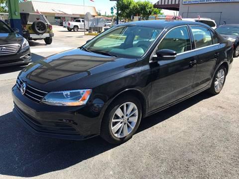 2015 Volkswagen Jetta for sale at CHASE MOTOR in Miami FL