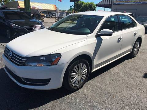 2015 Volkswagen Passat for sale at CHASE MOTOR in Miami FL