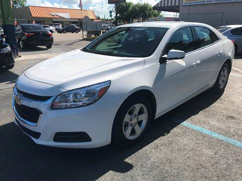 2016 Chevrolet Malibu Limited for sale at CHASE MOTOR in Miami FL