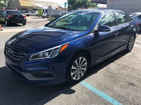 2015 Hyundai Sonata for sale at CHASE MOTOR in Miami FL