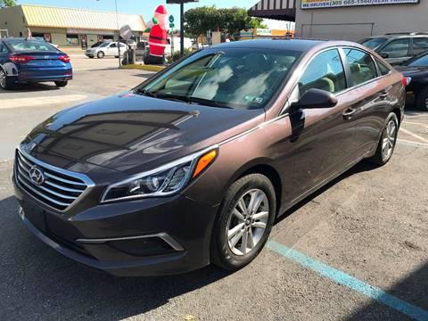 2016 Hyundai Sonata for sale at CHASE MOTOR in Miami FL