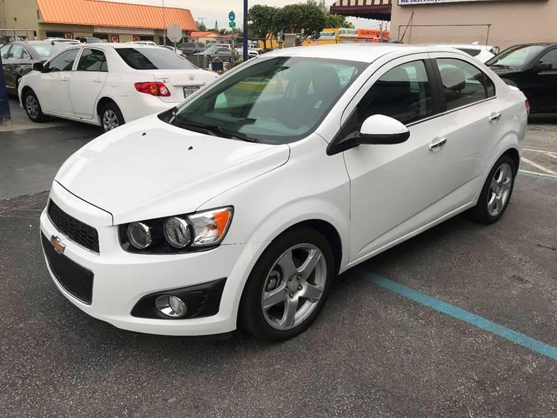 2016 Chevrolet Sonic Ltz Auto 4dr Sedan In Miami Fl Chase