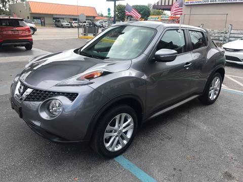 2016 Nissan JUKE for sale at CHASE MOTOR in Miami FL