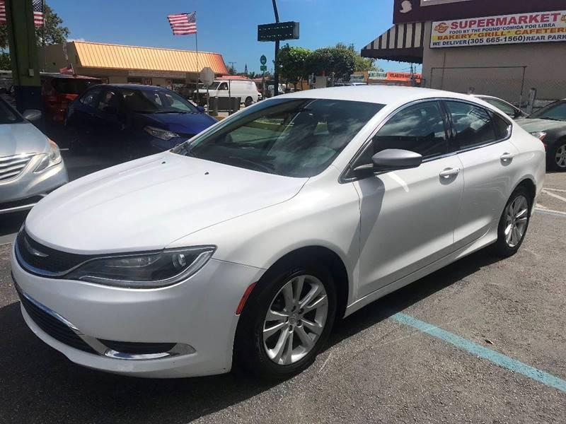 2016 Chrysler 200 for sale at CHASE MOTOR in Miami FL