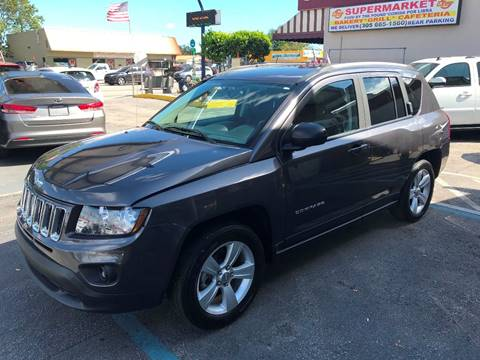 2016 Jeep Compass for sale at CHASE MOTOR in Miami FL