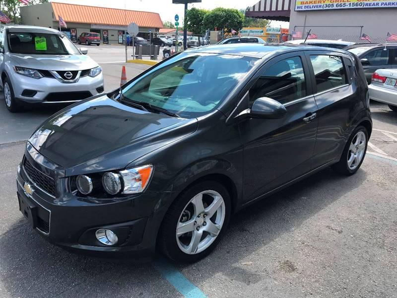2016 Chevrolet Sonic Ltz Auto 4dr Hatchback In Miami Fl