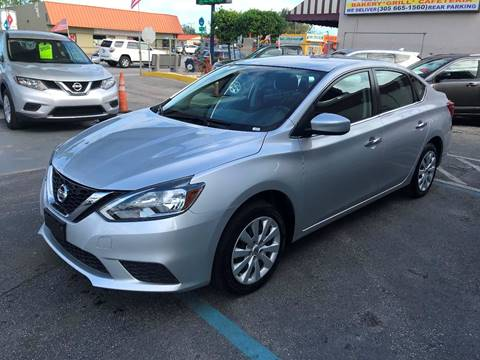 2016 Nissan Sentra for sale at CHASE MOTOR in Miami FL