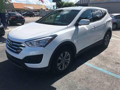 2016 Hyundai Santa Fe Sport for sale at CHASE MOTOR in Miami FL