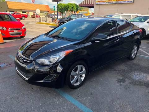 2013 Hyundai Elantra for sale at CHASE MOTOR in Miami FL