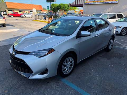 2017 Toyota Corolla for sale at CHASE MOTOR in Miami FL