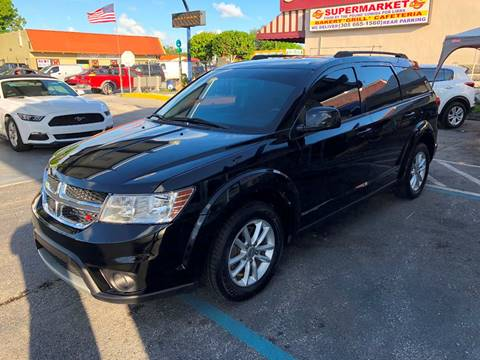 2015 Dodge Journey for sale at CHASE MOTOR in Miami FL