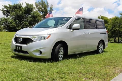 2012 Nissan Quest for sale in Miami, FL